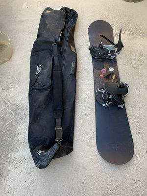 Snowboard bundle (snowboard, boots, bag) for Sale in Orange, CA
