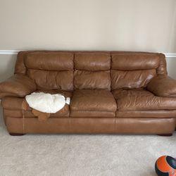 Lather Sofa for Sale in La Vergne,  TN