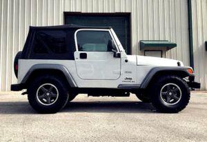 $12OO Only 2OO4 Jeep Wrangler Low Price for Sale in Harrisonburg, VA