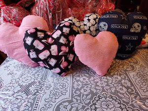 Heart Pillows ❤ for Sale in Groves, TX