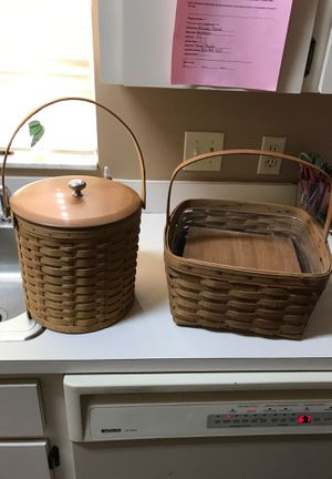Longaberger baskets for Sale in Lakeland, FL