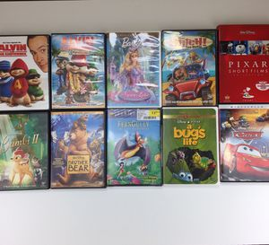 10 lot kids dvd collection for Sale in Pompano Beach, FL