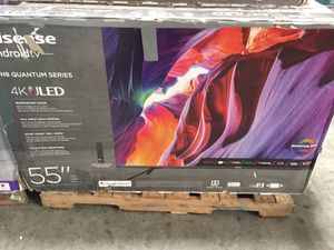 "55"" inch Hisense Quantum ULED 4K Android for Sale in Los Angeles, CA"
