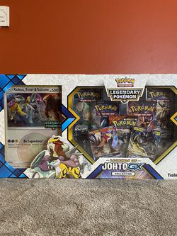 Pokemon Legends of Johto GX Collection Box for Sale in Seattle,  WA