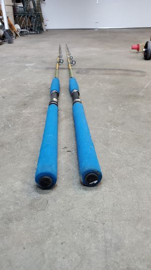 Two vintage fishing poles for Sale in Bremerton, WA
