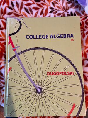 Pearson College Algebra 6E by Dugopolski for Sale in Cicero, IL