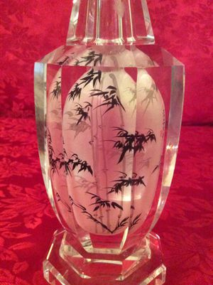 Chinese Glass Vase for Sale in Bauxite, AR