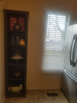 Tall storage shelf with 5 adjustable shelves 78 X 18 for Sale in Elgin, IL