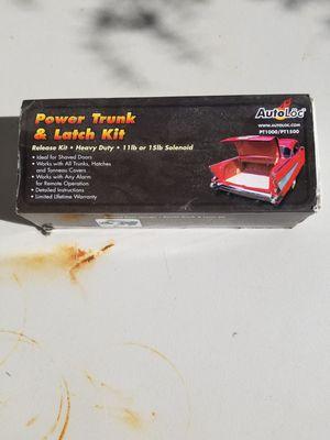 Autoloc power trunk & latch kit PT1000 for Sale in San Francisco, CA