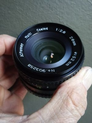JC Penney 28mm Wide-angle MD-mount NEW-IN-BOX for Sale in Chino, CA