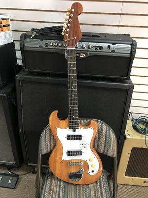 60's TEISCO electric guitar w/gig bag for Sale in Glendale, AZ
