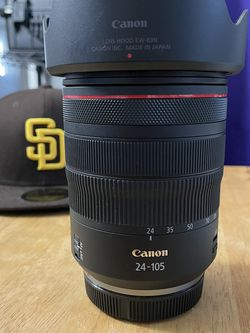 Canon RF 24-105mm f/4L IS USM Lens for Sale in San Diego,  CA