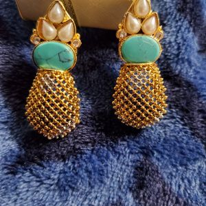 Gold Plated Earrings for Sale in Woodlawn, MD