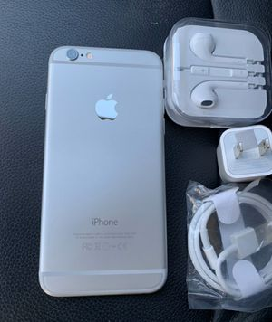iPhone 6, 64GB - just like new, factory unlocked, clean IMEI, clear iCloud for Sale in Springfield, VA
