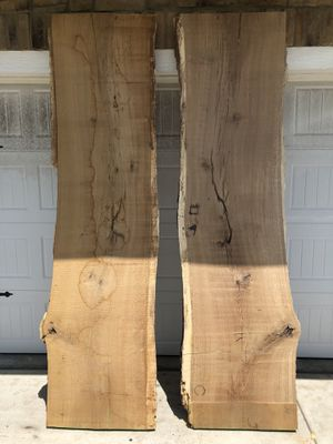 Oak Slabs Live Edge Bookmatched for Sale in Shawnee, KS