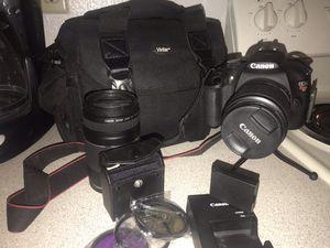 Canon T5 plus more... for Sale in El Paso, TX