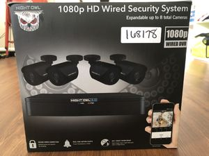 Night owl Wired Security Cameras for Sale in Charlotte, NC