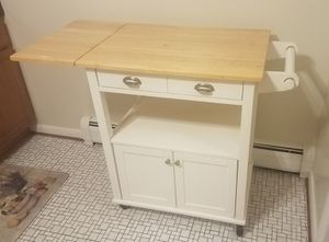 Rolling kitchen island / craft table for Sale in Arlington, VA