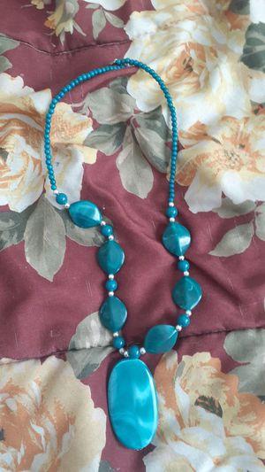 blue gem necklace for Sale in Wayland, MI