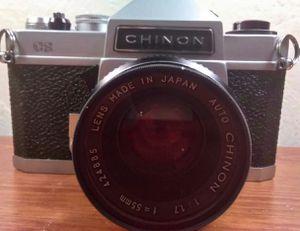Vintage chinon film camera 55 mm for Sale in Aurora, CO