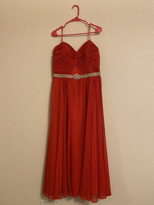 Red prom dress. Size 11 for Sale in Marysville, WA