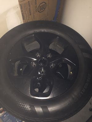 Tires and Black rims for Sale in Winter Haven, FL