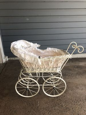 Vintage pram, small (for photo prop, decor or toy) for Sale in Manhattan Beach, CA