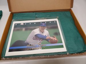 Nolan Ryan large baseball card for Sale in Louisville, KY