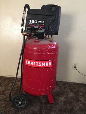 Craftsman Portable Vertical Air Compressors, 20 gal for Sale in Phillips Ranch, CA