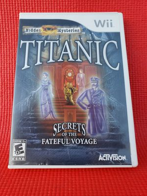 Titanic wii for Sale in Norwalk, CA