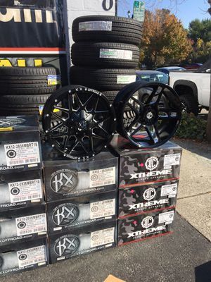 Wheel and tire package deals - Off road, Regular cars, message me for options for your vehicle for Sale in Lafayette, CA
