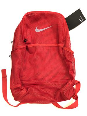 Nike Brasilia Mesh Backpack 24L Red for Sale in Chicago, IL