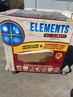 Elements all climate RV cover NEW IN BOX for Sale in Henderson, NV