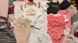 Newborn girl clothes and diapers for Sale in Lewisburg, TN