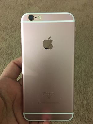 iPhone 6S CARRIER AND ICLOUD UNLOCKED for Sale in Silver Spring, MD