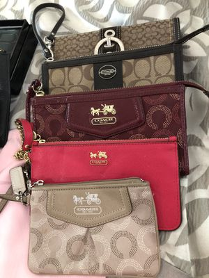 Coach wallets and wristlets for Sale in Leominster, MA