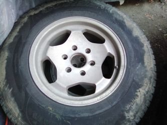16 inch Chevy wheels tires for Sale in Wenatchee,  WA