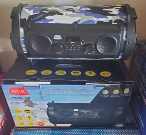 New super bass wireless speaker rechargeable Bluetooth usb, fm, tf for Sale in Riverside, CA
