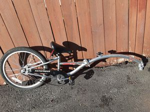 ###$$$$PRICEDROP$$$$###Hardly use training trailer bike retail @REI for around $380 for Sale in Milwaukie, OR