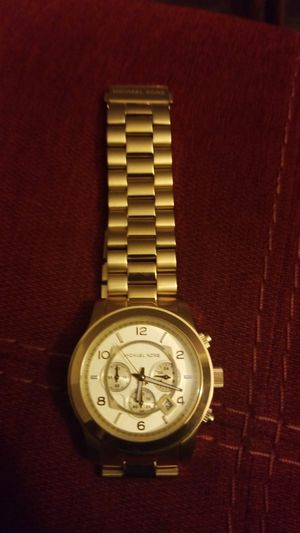 Michael Kors Gold Watch for Sale in Crofton, MD