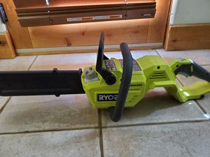Ryobi 14 in 40 Volt Cordless Battery Brushless Chainsaw No battery Tool Only for Sale in Phoenix, AZ