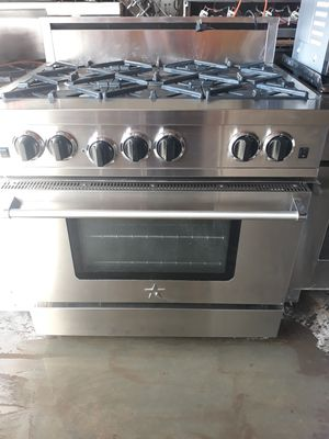 """BLUE STAR PROFESSIONAL STOVE 36"""" NATURAL GAS 6 BURNERS for Sale in Hayward, CA"""