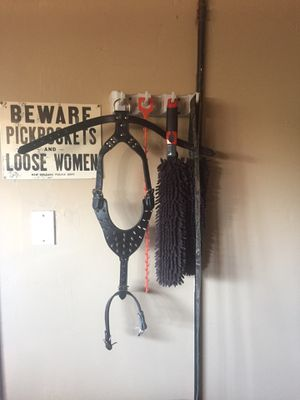 Spiked leather dog harness for Sale in Highland, CA