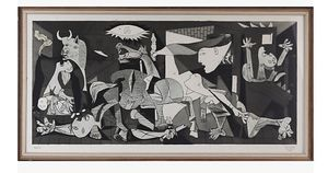Vintage Minerva Reproduktioner Pablo Picasso Guernica for Sale for sale  New York, NY