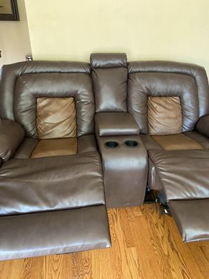 Brown recliner Theater seats for Sale in Olivette, MO