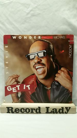 """Stevie Wonder And Michael Jackson """"Get It"""" vinyl record Funk / soul for Sale in San Diego, CA"""