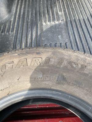 Trailer tires Carlisle 225/75/15 for Sale in Anaheim, CA