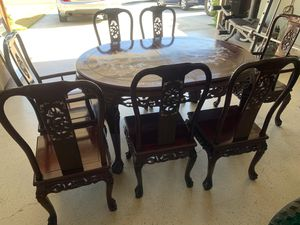 ***HAND CRAFTED DINING TABLE***MADE IN INDIA*** for Sale in Rialto, CA