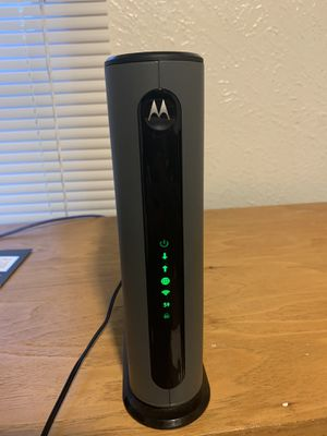 Motorola MG7550 Router Modem Combo for Sale in Plano, TX