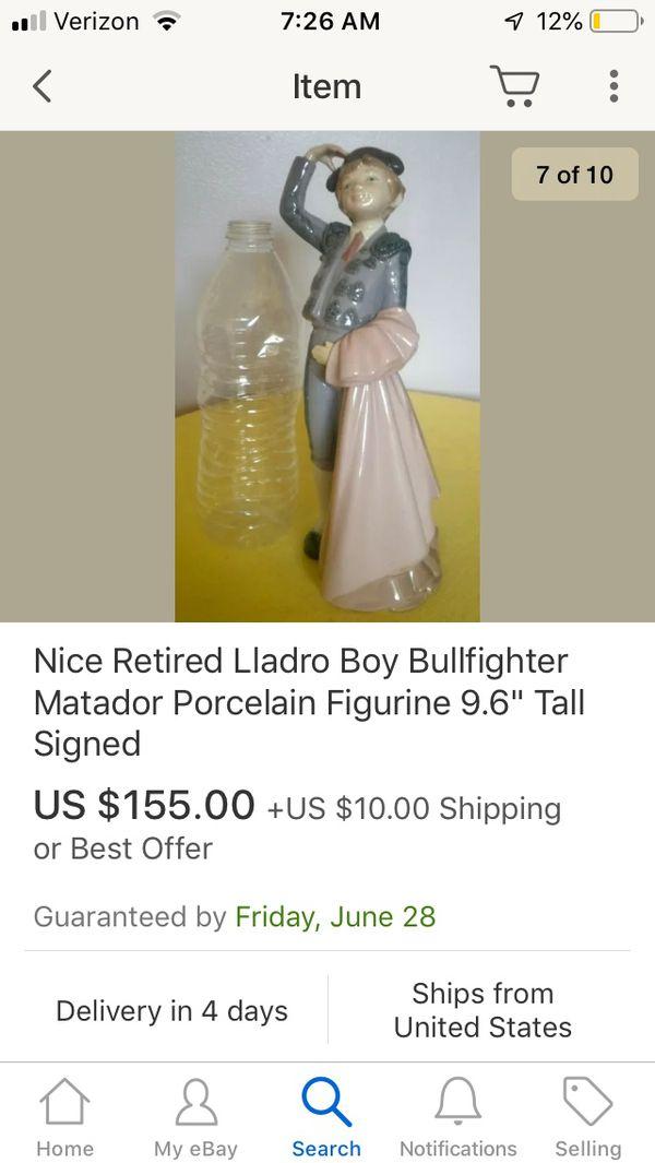 Retired LLADRO BOY MATADOR Boy Bullfighter Figurine Jose Roig #5117